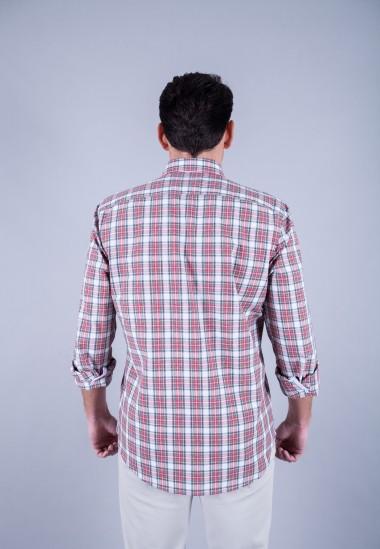 Camisa de hombre Einstein Patadegayo de calidad sostenible fabricada en España - plano trasero
