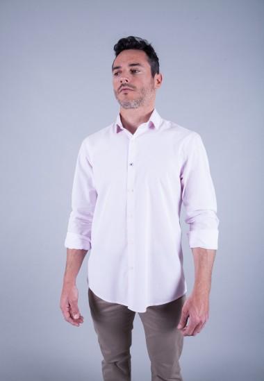 Camisa de hombre Gala Patadegayo de calidad sostenible fabricada en España - plano delantero