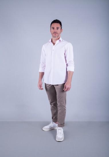 Camisa de hombre Gala Patadegayo de calidad sostenible fabricada en España - plano completo