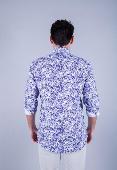 Camisa de hombre Patadegayo de calidad sostenible fabricada en España - espalda