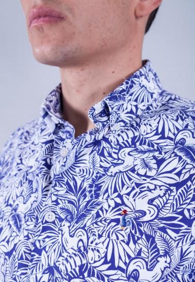 Camisa angelus Patadegayo de calidad sostenible fabricada en España - detalle