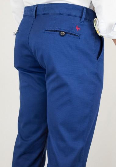 Pantalón  hombre Elliot Patadegayo en color tinta, fabricado en españa, muy comodo y de calidad - detaller atrás