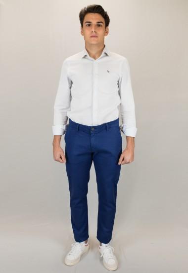 Pantalón  hombre Elliot Patadegayo en color tinta, fabricado en españa, muy comodo y de calidad - plano completo