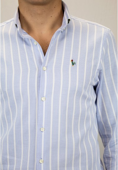 Camisa de hombre Potter Patadegayo de calidad sostenible fabricada en España - detalle