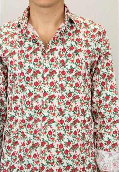 Camisa de hombre Rubeus Patadegayo de calidad sostenible fabricada en España - detalle