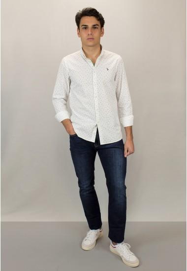 Camisa de hombre Severus Patadegayo de calidad sostenible fabricada en España - detalle