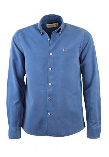 Camisa de hombre Jimmy Patadegayo de calidad sostenible fabricada en España - plano fantasma